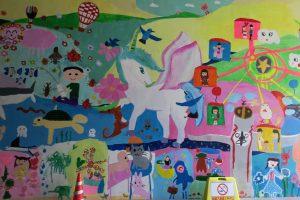 昨年のトンネルアートの作品