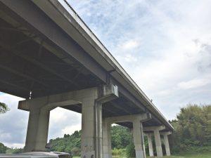 「ラストボンドSG」を用いた千葉県佐倉市の長隈橋