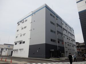 完成した大阪事業所技術研究棟