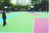 道路、スポーツ施設を彩る通気性耐久性水性無機質塗料「R800」
